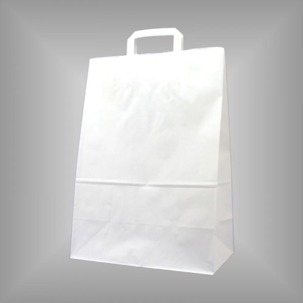 32 x 17 x 44 cm Papiertüten weiß 250 Sück