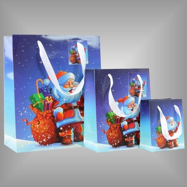 """12 Lacktaschen """"Weihnachtsmann"""""""
