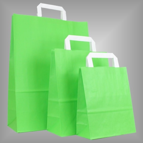 250 Papiertüten hellgrün
