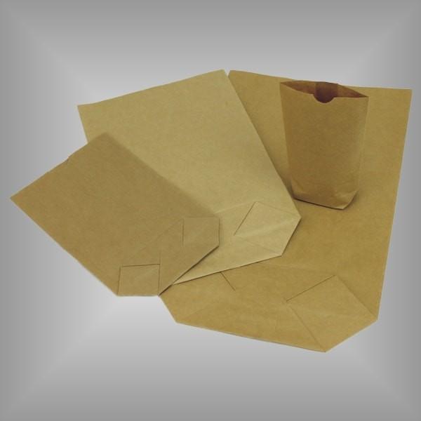 Papierbodenbeutel braun
