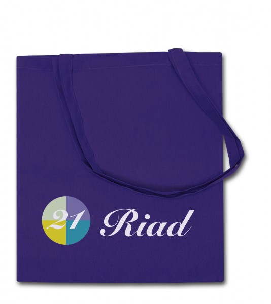 Baumwolltragetaschen 38 x 42 cm - 1-seitig 1-farbig bedruckt